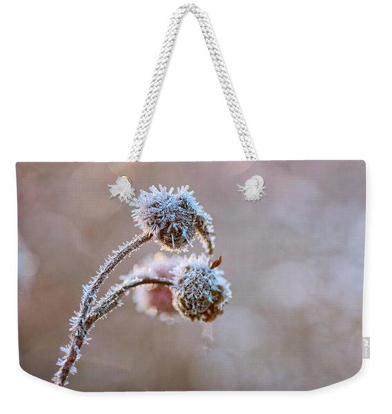 Encrusted Weekender Tote Bag