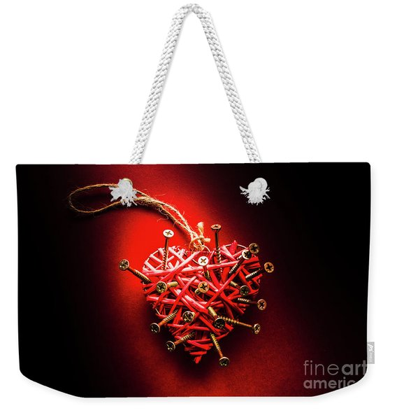 End Of Heartache Weekender Tote Bag