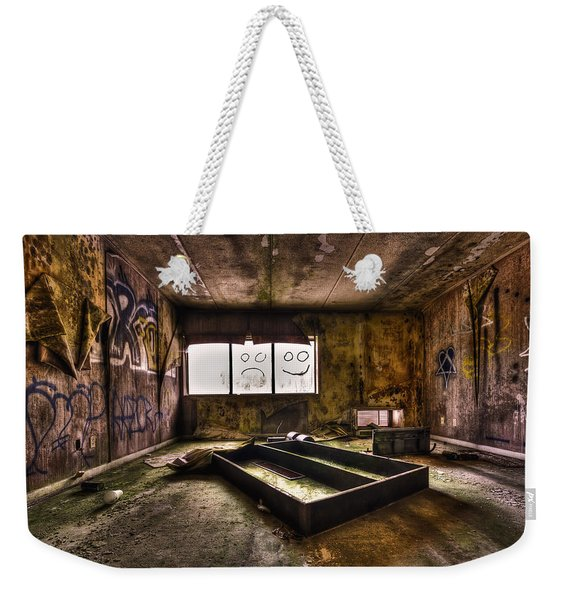 End Of Humanity Weekender Tote Bag
