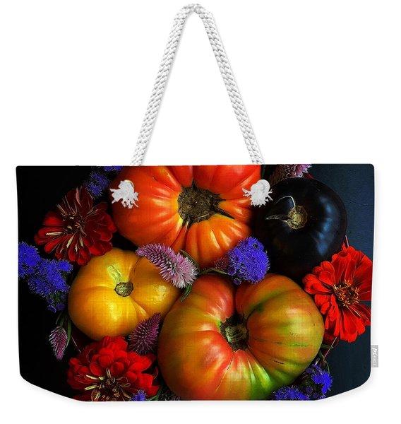 End Of Summer Colors Weekender Tote Bag