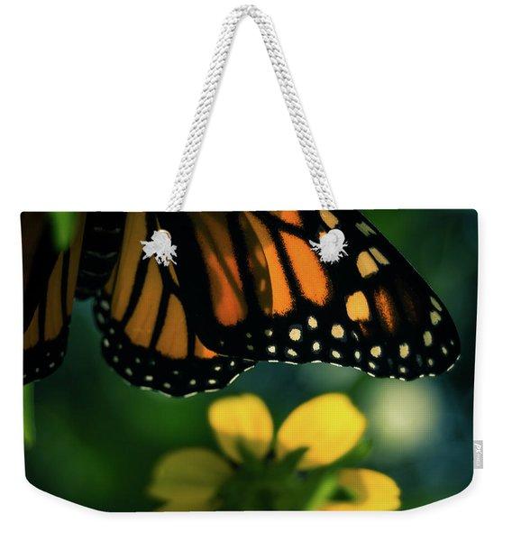 End Of Summer Monarch Weekender Tote Bag