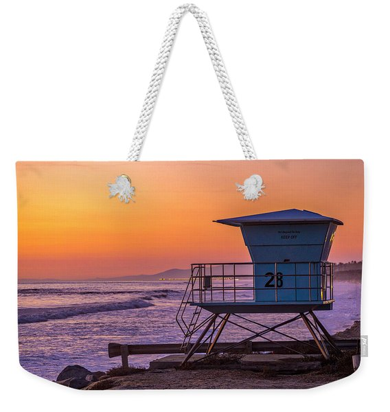 End Of Summer Weekender Tote Bag