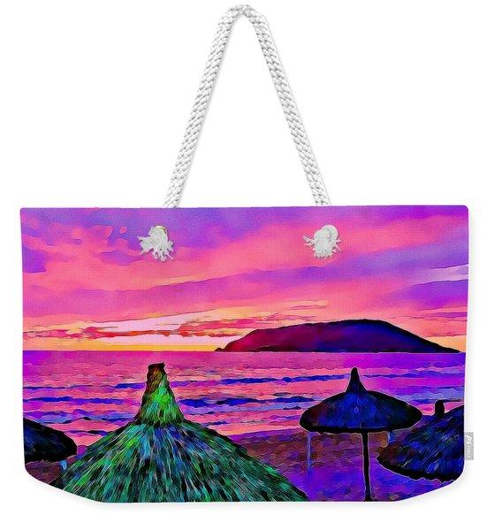 End Of The Beach Day In Mazatlan Weekender Tote Bag