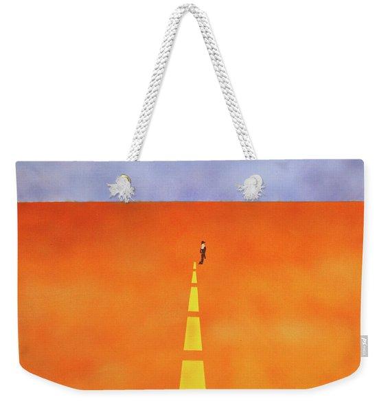 End Of The Line Weekender Tote Bag