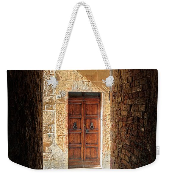 End Of The Tunnel Weekender Tote Bag