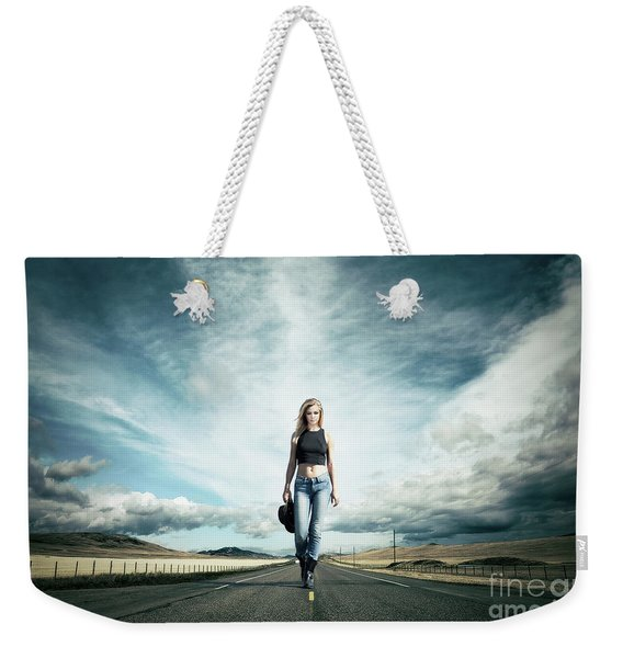 Endless Road To Happiness Weekender Tote Bag