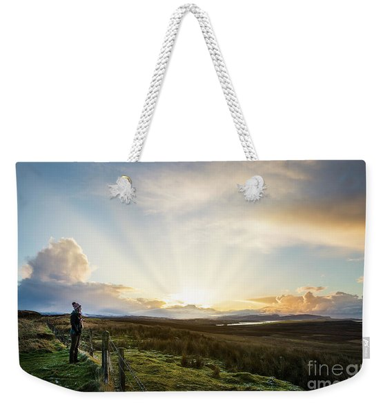 Endless Skye Weekender Tote Bag