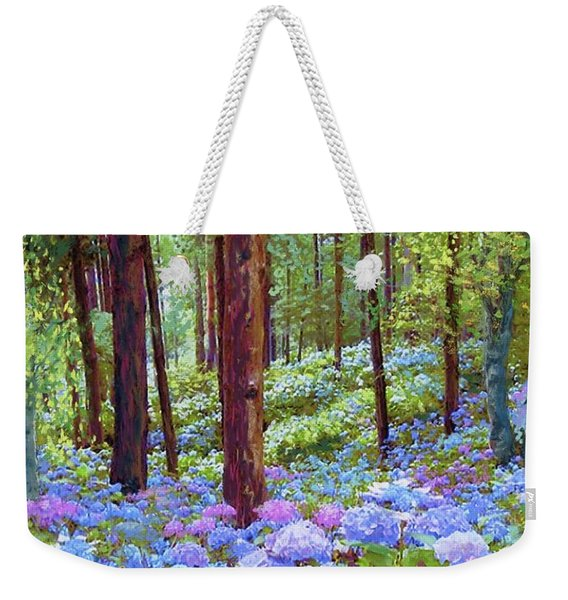 Endless Summer Blue Hydrangeas Weekender Tote Bag