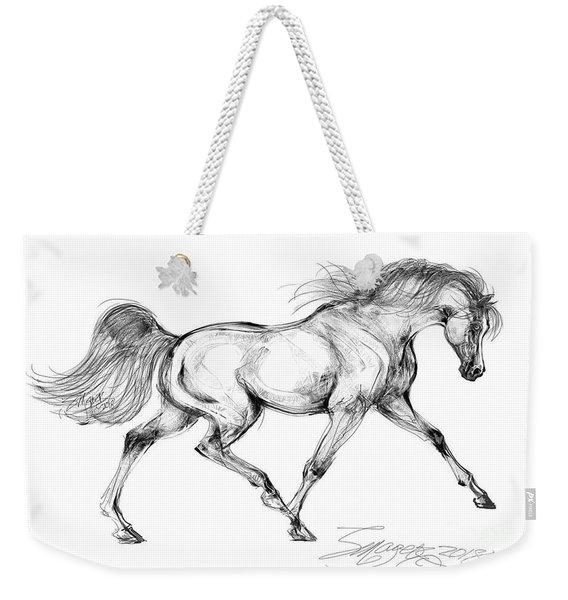 Endurance Horse Weekender Tote Bag