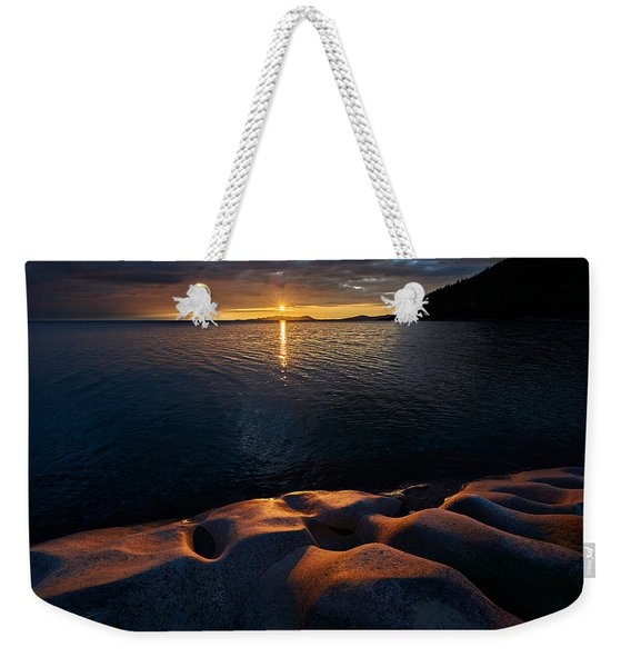 Weekender Tote Bag featuring the photograph Enduring Autumn by Doug Gibbons