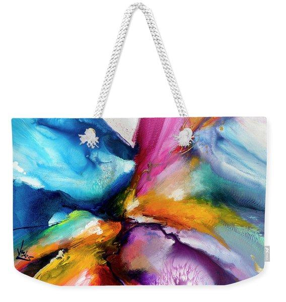 Energy Flow #5 Weekender Tote Bag