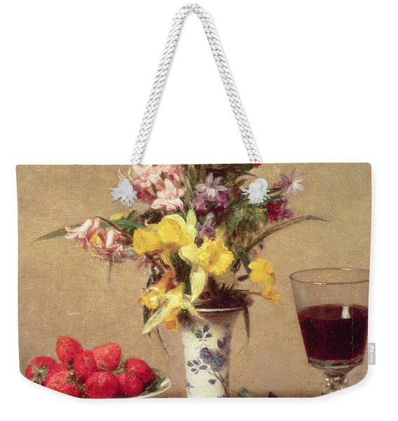 Engagement Bouquet Weekender Tote Bag