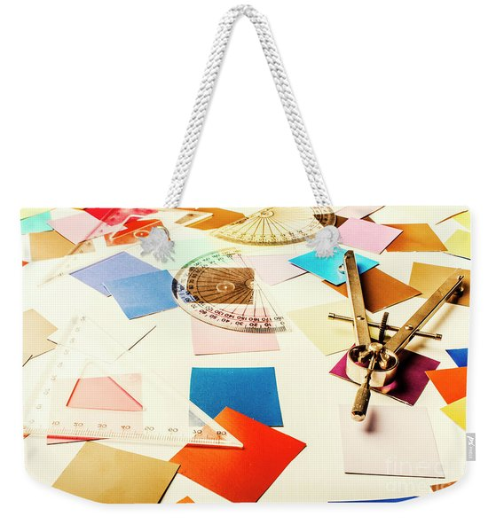Engineering Colour Rules Weekender Tote Bag