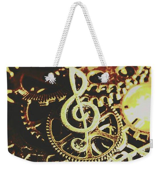 Engineering The Music Industry Weekender Tote Bag