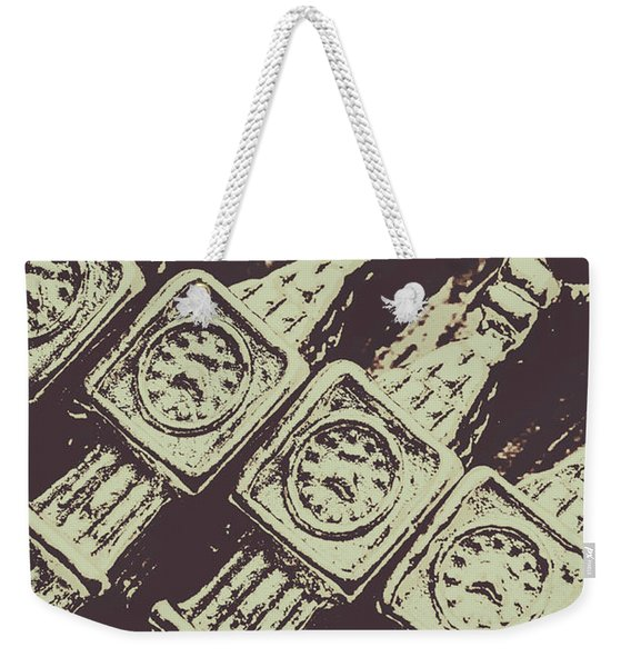 England Tourism Past Weekender Tote Bag