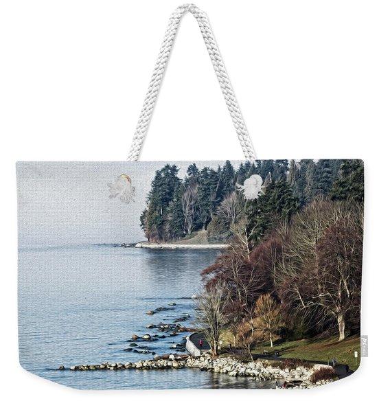 English Bay Shore Weekender Tote Bag