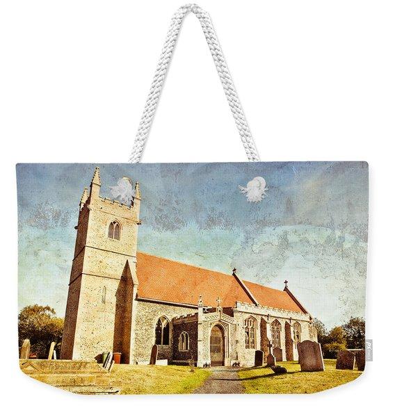 English Church Weekender Tote Bag