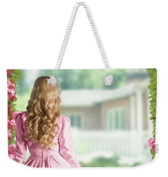 English Country Roses Weekender Tote Bag