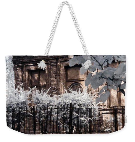 English Garden House Weekender Tote Bag