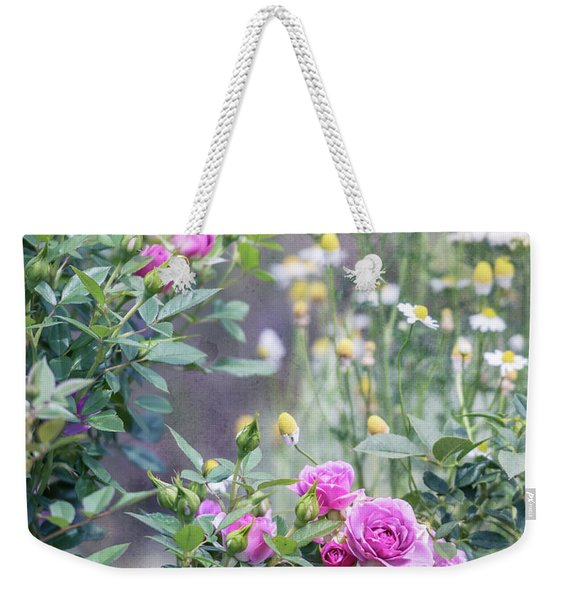 English Garden Weekender Tote Bag