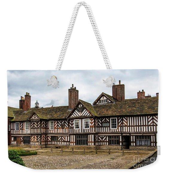Historic Tudor Timbered Hall Weekender Tote Bag