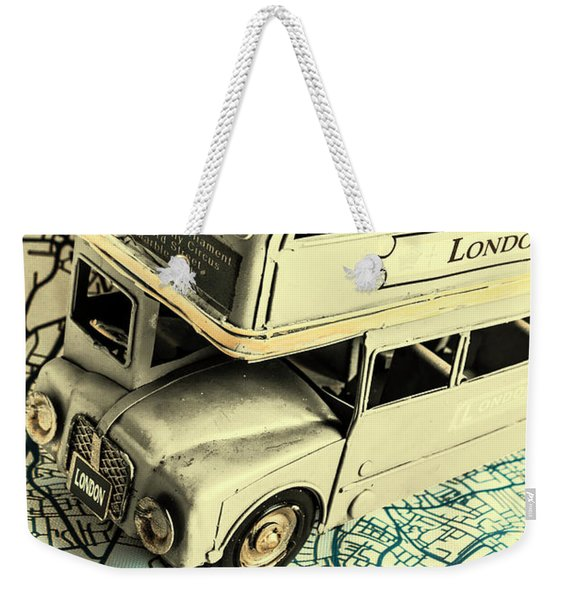English Way Weekender Tote Bag