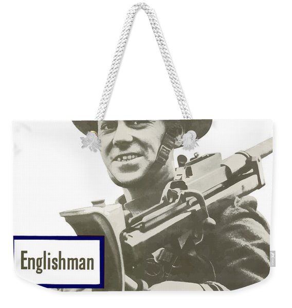 Englishman - This Man Is Your Friend Weekender Tote Bag