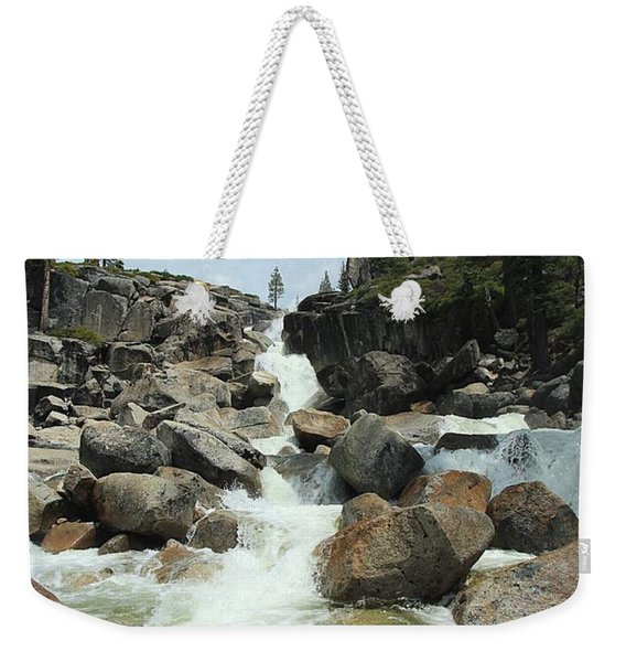 Enjoy A Waterfall Weekender Tote Bag