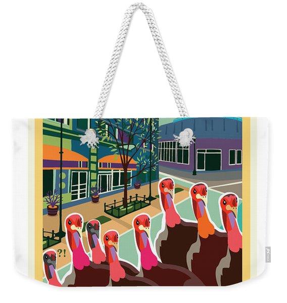 Enjoy Our Shopping Weekender Tote Bag