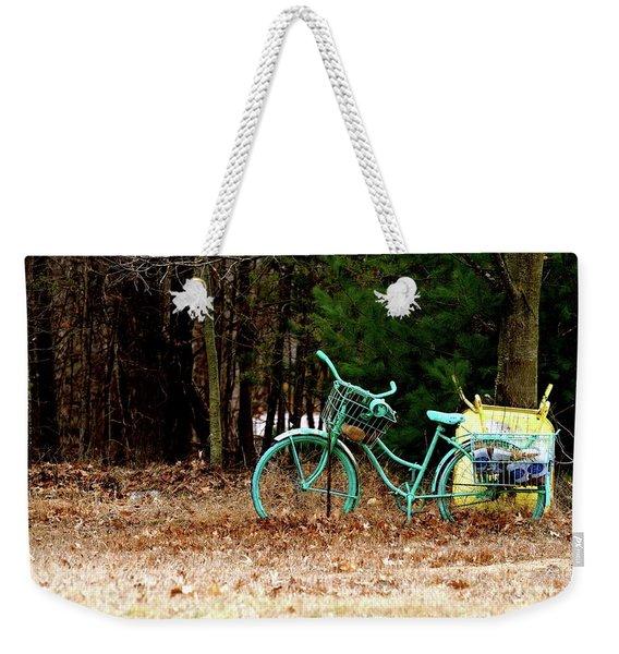 Enjoy The Adventure Weekender Tote Bag
