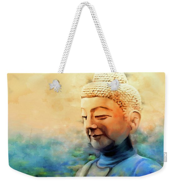 Enlightened One Weekender Tote Bag