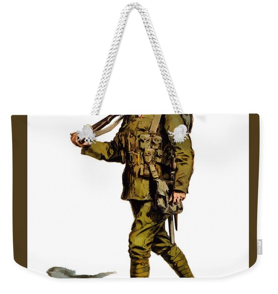 Enlist To-day - World War 1 Weekender Tote Bag