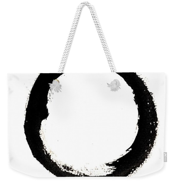 Enso Enlightenment Weekender Tote Bag