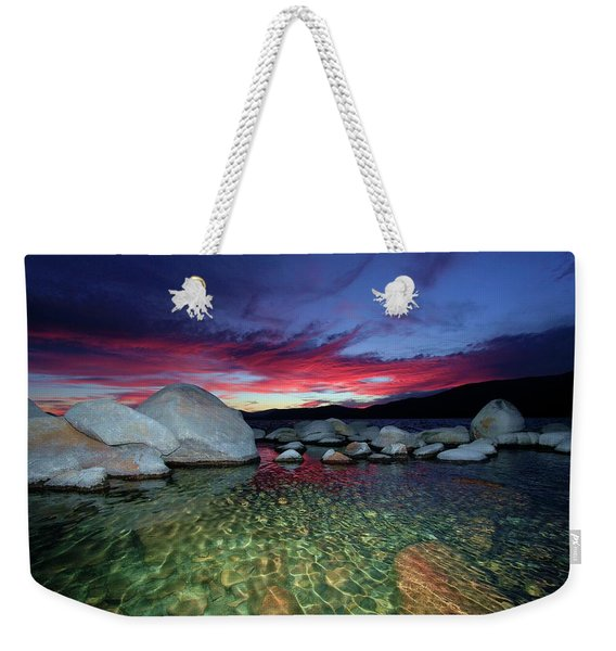 Enter A Tahoe Dream Weekender Tote Bag