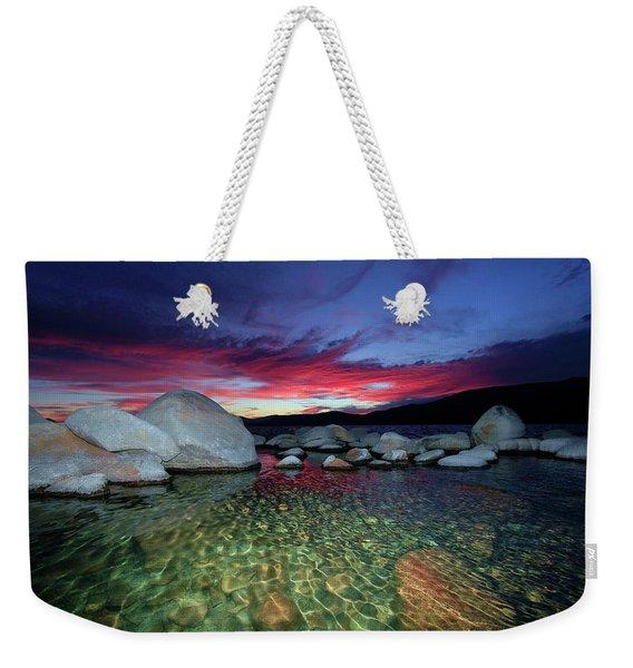 Enter A Tahoe Dream Weekender Tote Bag