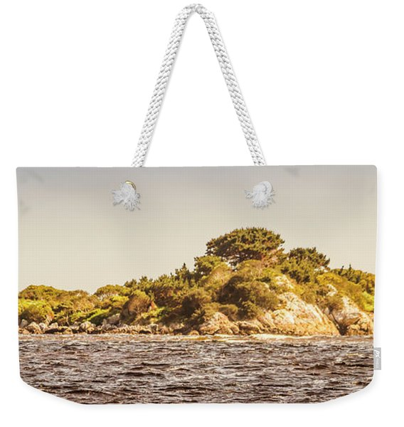 Entrance Island Lighthouse, Hells Gates Weekender Tote Bag
