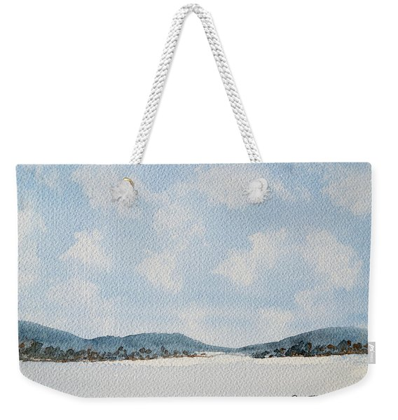 Entrance To Moulters Lagoon From Bathurst Harbour Weekender Tote Bag