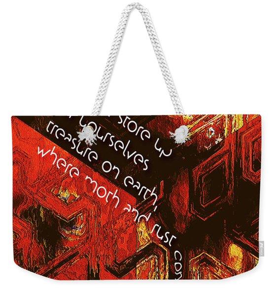 Entropy Weekender Tote Bag