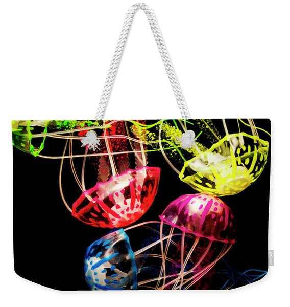 Entwined In Interconnectivity Weekender Tote Bag
