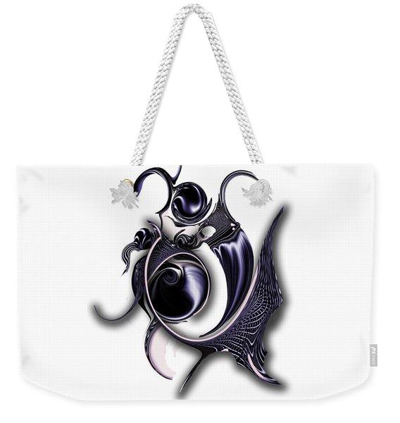Ephemeral Purity Weekender Tote Bag