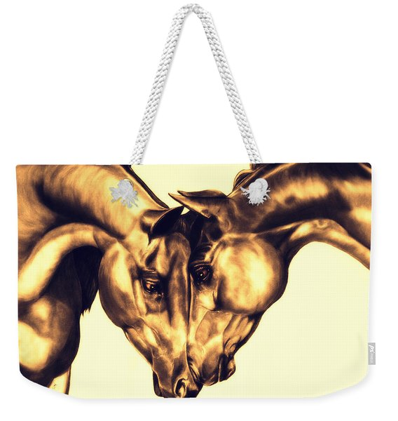 Equine Attraction Weekender Tote Bag