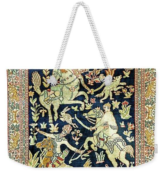 Equine Tapestry Weekender Tote Bag