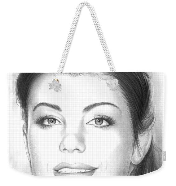 Erica Durance Weekender Tote Bag