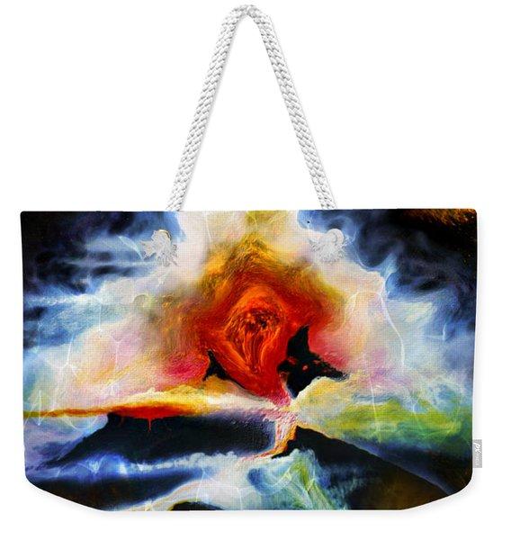 Eruption Weekender Tote Bag