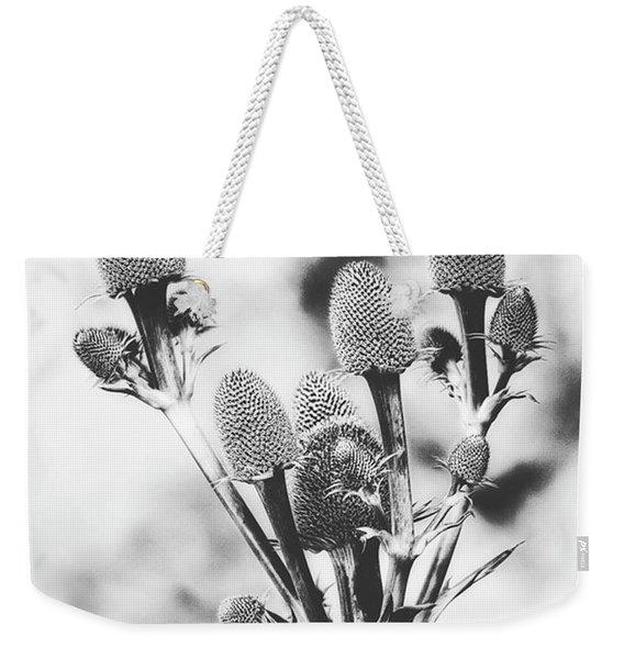 Eryngium #flower #flowers Weekender Tote Bag