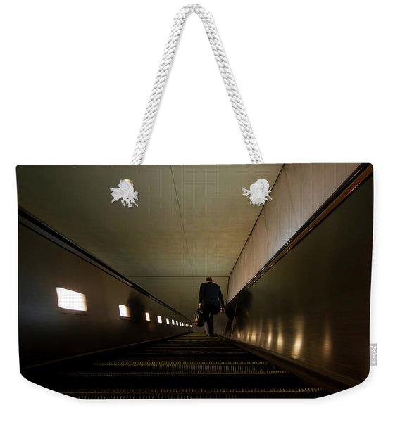 Escalation Weekender Tote Bag