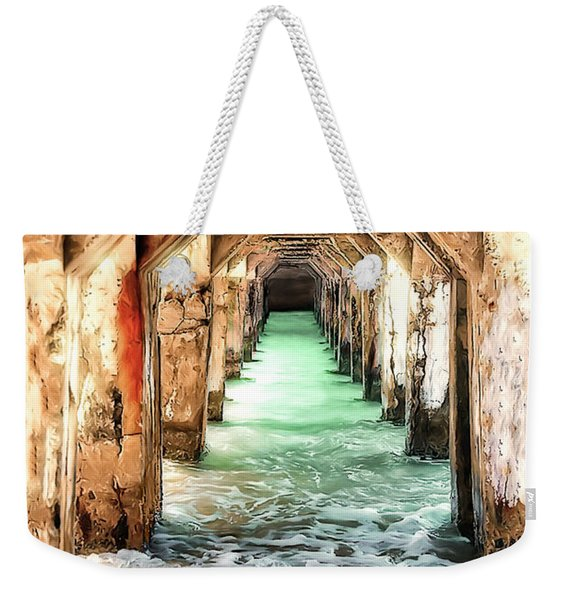 Escape To Atlantis Weekender Tote Bag