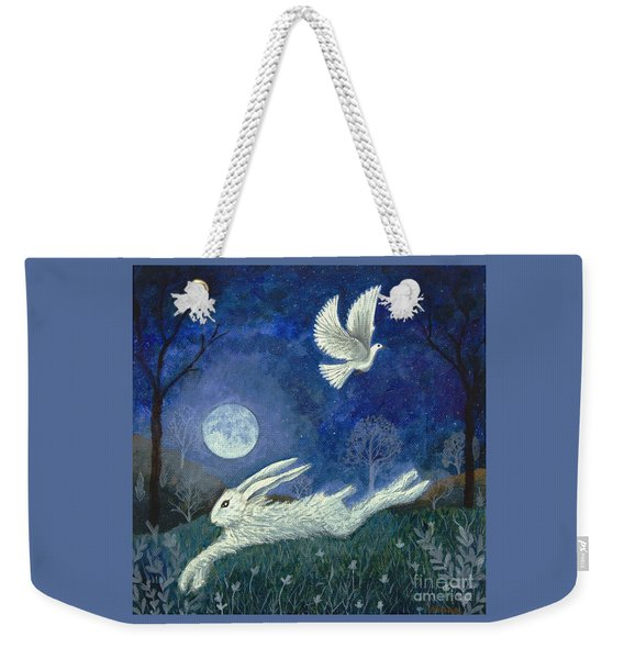 Escape With A Blessing Weekender Tote Bag