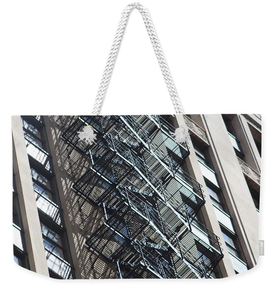 Escaping A Chicago Brownstone Weekender Tote Bag