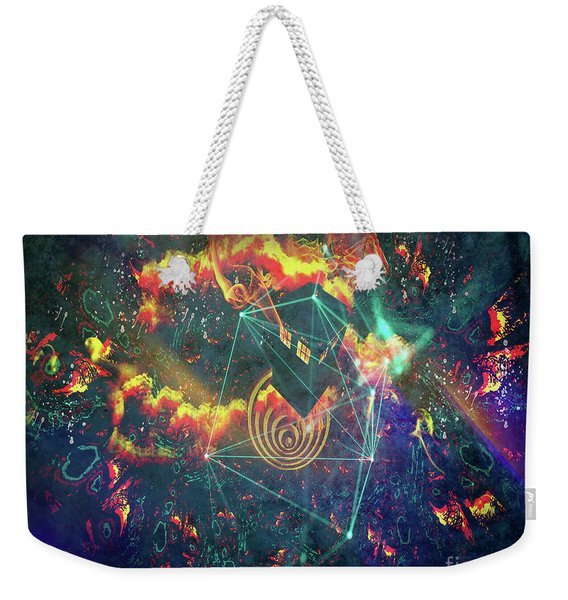 Escaping The Vortex Weekender Tote Bag